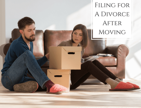 How long after you move can you file for divorce in California?