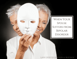 Marriage Divorce and Bipolar Disorder
