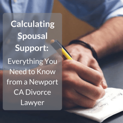 Calculating Spousal Support Everything You Need To Know From A